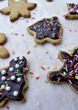 Galletas de Navidad Saludables y Veganas