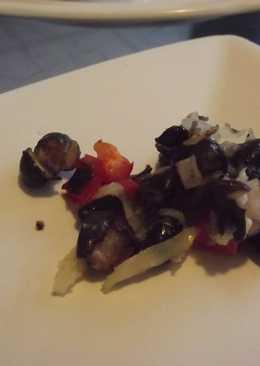 Ensalada de frijoles negros y jícama