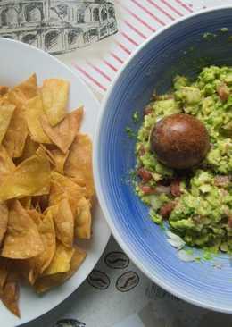Nachos con Guacamole