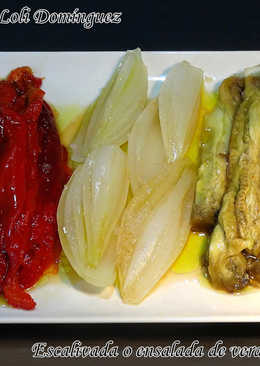 Escalivada o ensalada de verduras al horno