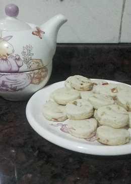 Cookies de nuez y almendra
