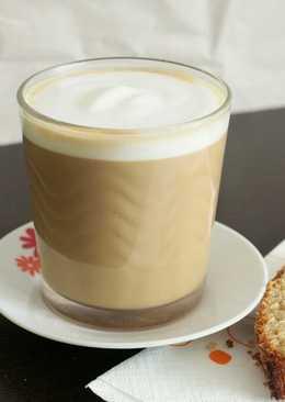 Café con leche con muuuucha espuma ☕🍶