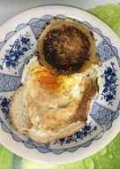 Huevo en tostada