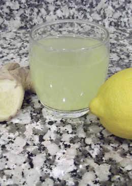 Infusión de jengibre y limón