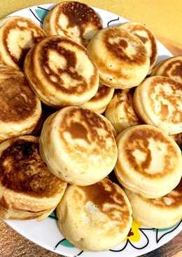 Popcake pancake - rellenos de chocolate