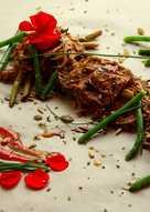 Receta Saludable para Diabetes: Judías Verdes y Tomates Horneados con Soja