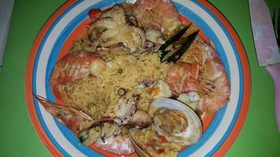 Paella de mar