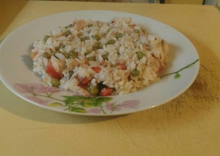 Ensalada de arroz y at n receta de bettiana ramos cookpad - Ensalada de arroz y atun ...