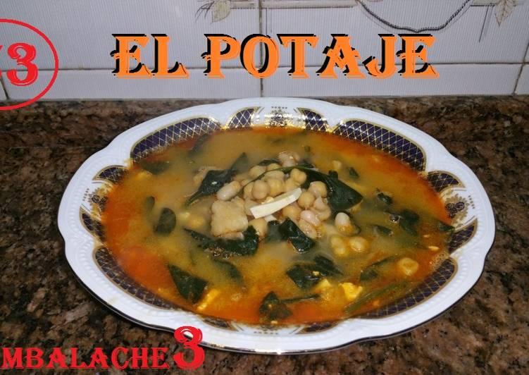Potaje de garbanzos y judias receta de cambalache3 cookpad - Potaje de garbanzos y judias ...