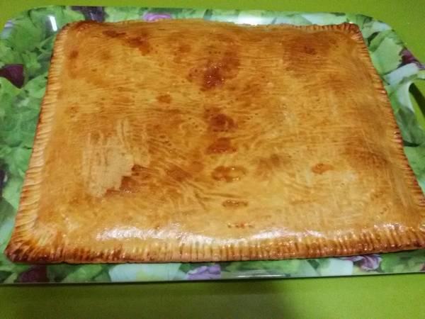 Empanada de jamón y queso con thermomix