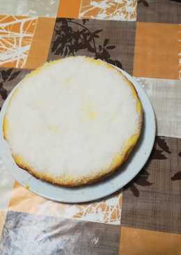 Tarta de piña colada