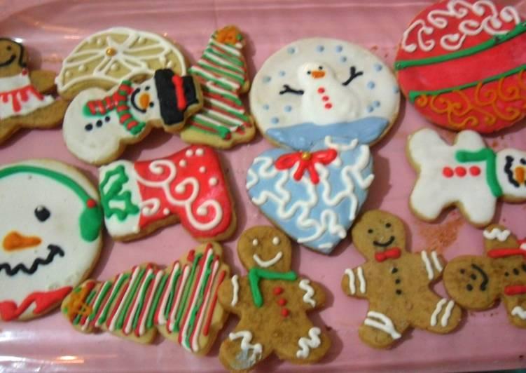 Galletas Decoradas Navideñas Receta De Dulce Atami Cookpad