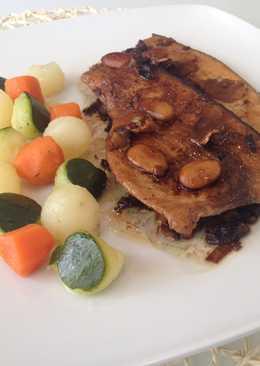 Jengibre con pescado blanco 146 recetas caseras cookpad for Pez espada en salsa de almendras