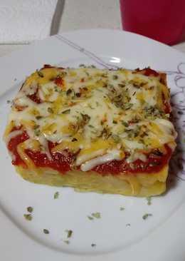 """Cena súper rápida """"tortilla como pizza"""" 🍕"""