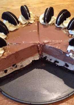 Cheesecake de Oreo con Nutella sin horno