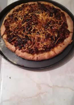 Pizza barbacoa a mi manera