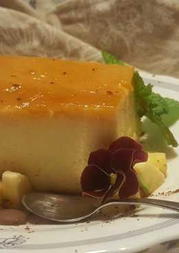 Flan de queso fresco