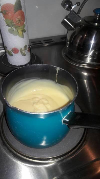Crema pastelera 😋😘