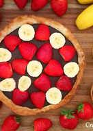 Tartaletas de chocolate y fruta