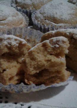 Muffins de harina tostada
