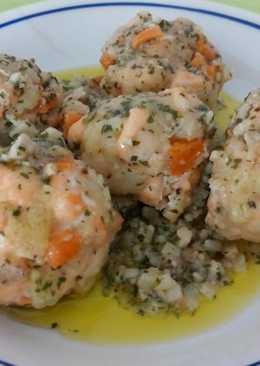 Albóndigas de salmón