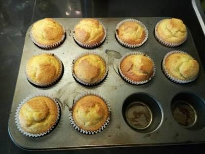 Cupcakes de durazno re fácil apto APLV