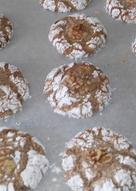 Galletas de nueces / Comida de Marruecos
