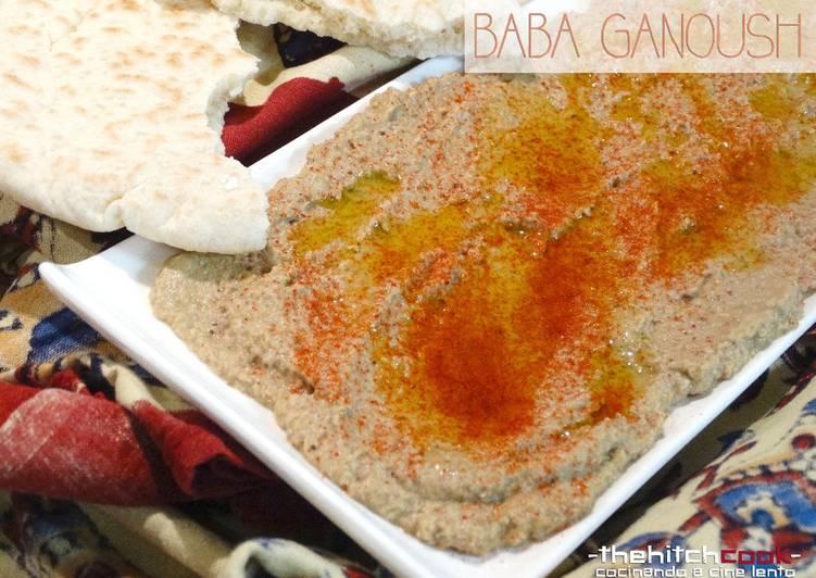 Baba Ganoush o Paté de Berenjena