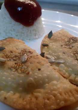 Unas Empanadillas de mechada Canaria de res