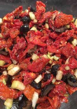 Salsa de tomates secos