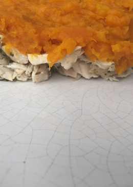 Pastel de pollo y zapallo