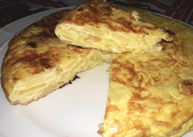 Tortilla de papas...o mejor dicho de patatas 🇪🇸 💃🏽
