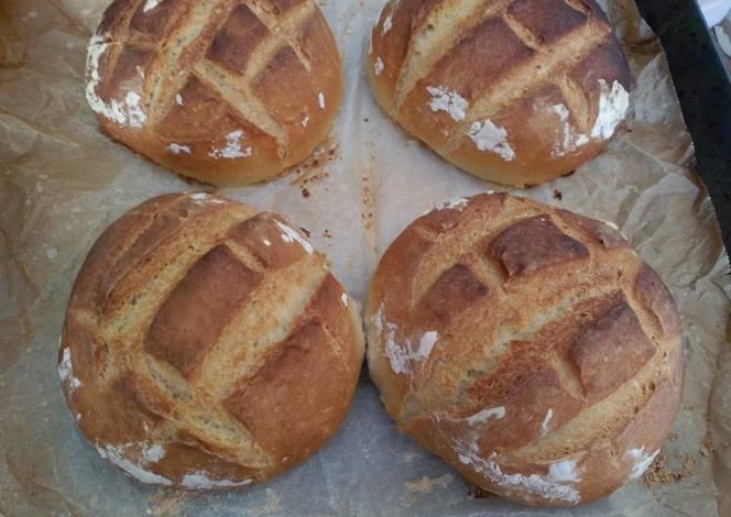 Pan casero en horno de le a muy facil receta de - Hacer pan horno de lena ...