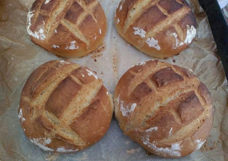 Pan casero en horno de le a muy facil receta de adoraci n solana albaladejo cookpad - Horno casero de lena ...