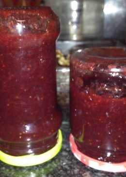 Mermelada casera de fresa