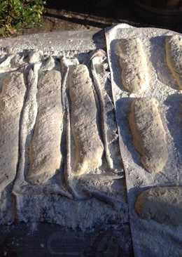 Pan casero cocido con leña