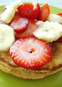 Pancakes con avena
