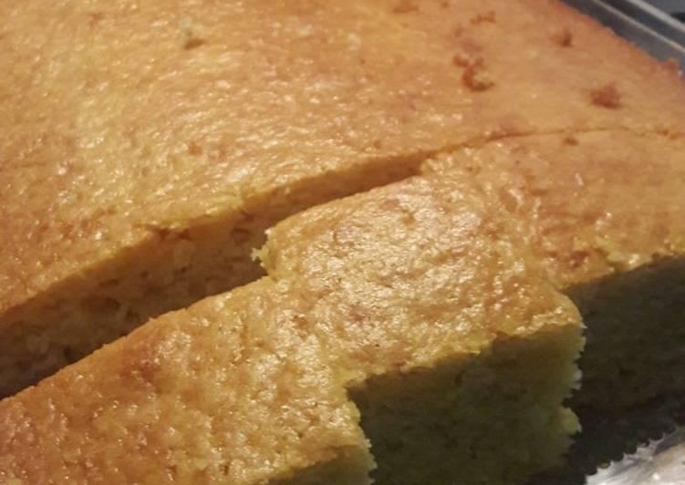 Torta de Polenta (Harina de Maíz)