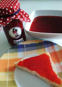 Mermelada de fresa en Panificadora