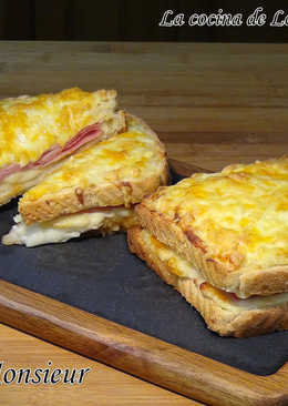 Croque Monsieur (Delicioso sándwich cremoso y extra crujiente)
