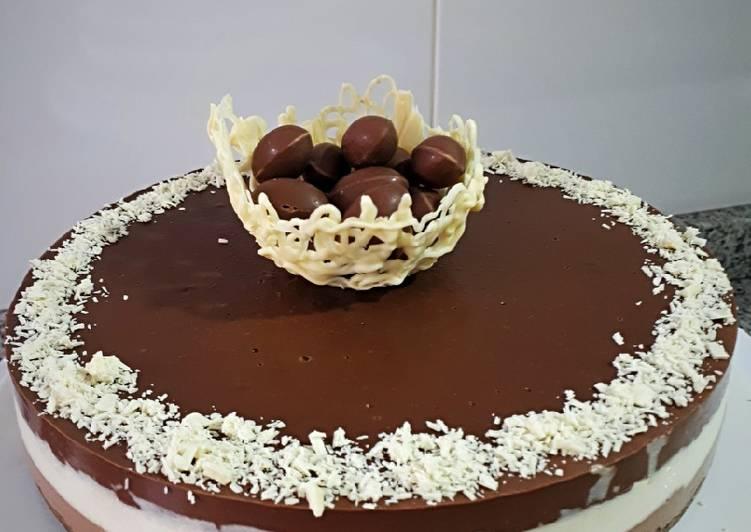 Tarta 3 Chocolates Para Diabéticos Receta De Paquichu Cookpad