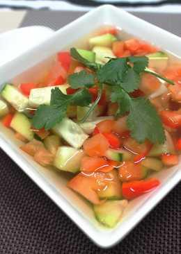 Ensaladilla en salsa de vinagre