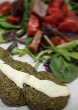 Falafel de Kale al horno