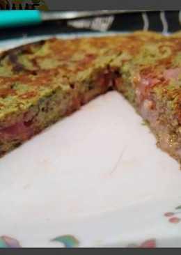 Tortilla dulce sin Harinas
