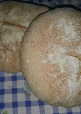 Pan casero con matalauva (muy fácil)