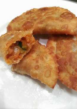 Empanadillas con soja texturizada