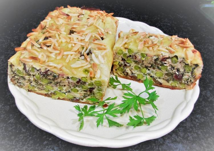 Terina de guisantes con hojas de remolacha para llevar for Cocinar remolacha