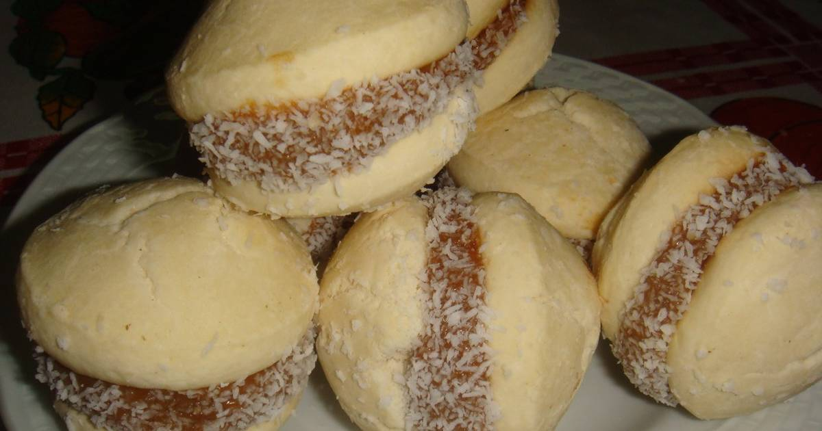 alfajores de harina y maicena
