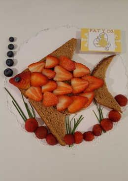 Desayuno con fresas!!!