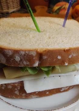 Sándwich completito y delicioso para una cena de verano